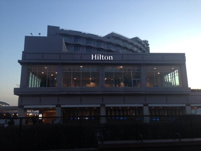 お 台場 ホテル ヒルトン